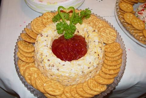 Strawberry Cheese Ring. Photo by Kim D.