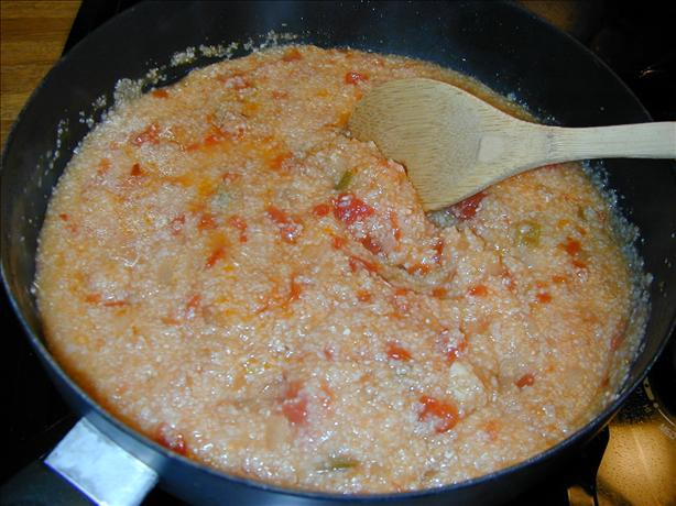 Cajun Grits. Photo by Barb Gertz