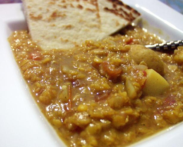 Kuwaiti Red Lentil Soup (Shaurabat Adas). Photo by FLKeysJen