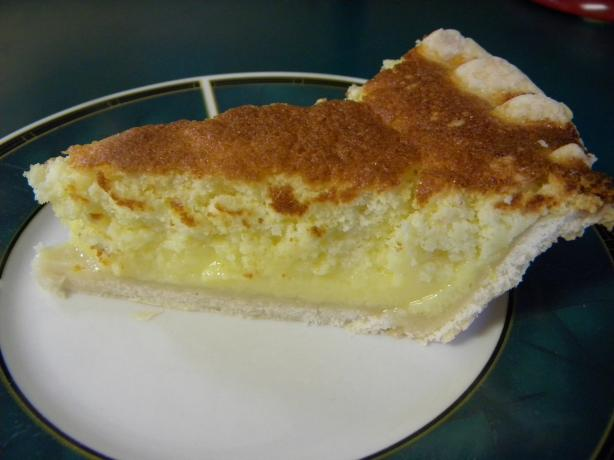 Colonel Sanders' Lemon Sponge Pie. Photo by HisPixie