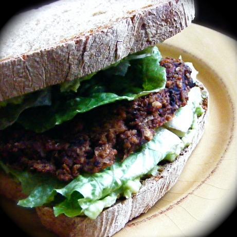 Olive Lentil Burgers. Photo by Kozmic Blues