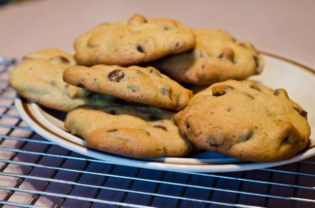 Vanilla Pudding Chocolate Chip Cookies. Photo by truebrit