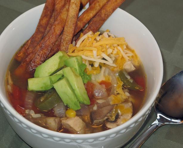 Sarahkaye's Spicy Chicken Tortilla Soup. Photo by SarahKaye