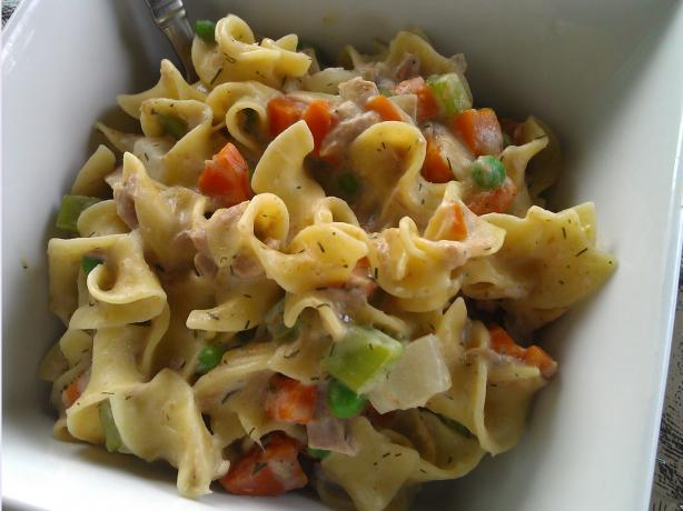 Clean Eating Tuna Casserole. Photo by TattooedMamaof2