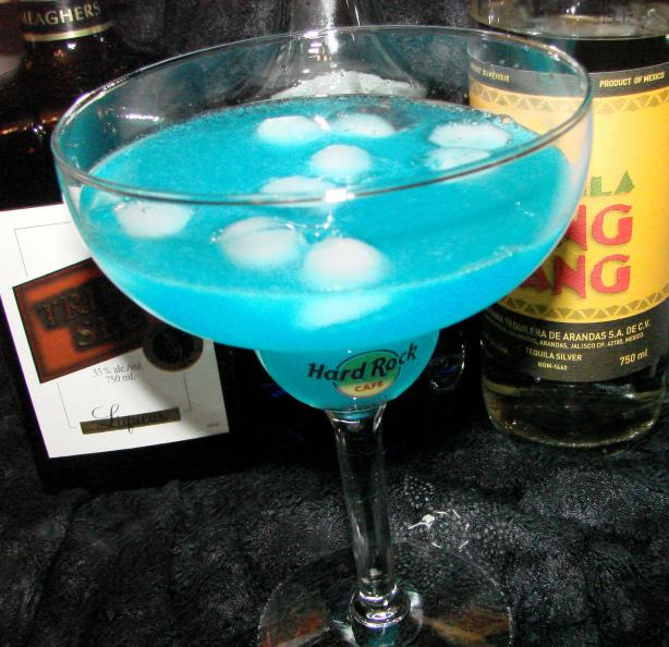 Blue Margarita. Photo by Boomette