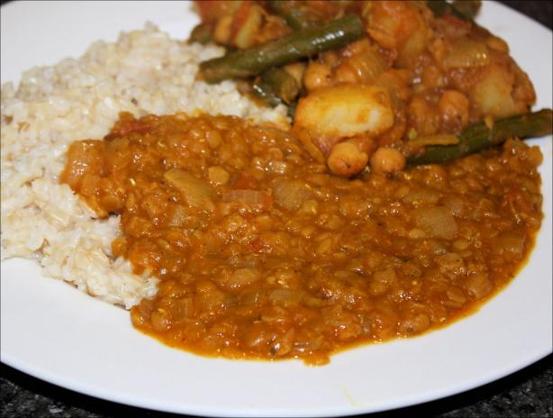 Red Lentil Dhal. Photo by **Jubes**