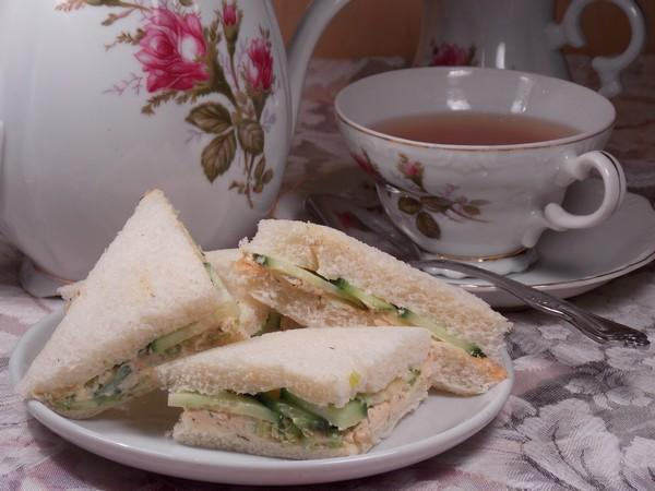 Cucumber and Dill Tea Sandwich. Photo by Lavender Lynn