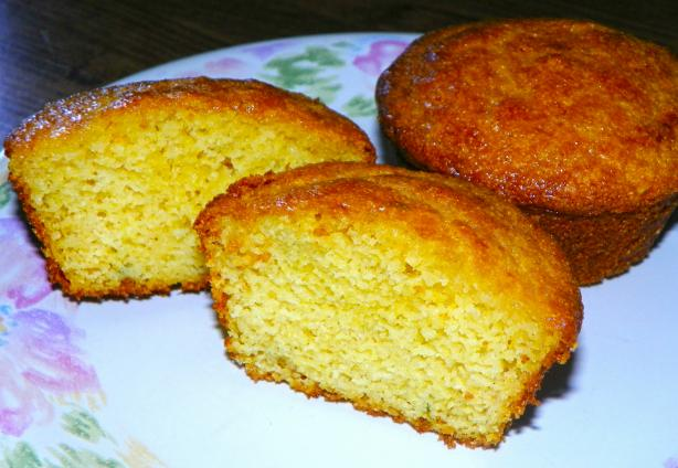 Honey-Thyme Cornbread Muffins. Photo by Baby Kato