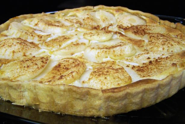 Joan&#39;s Pear Tart. Photo by CarolAT