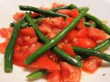 Chilean Tossed Green Beans and Tomatoes