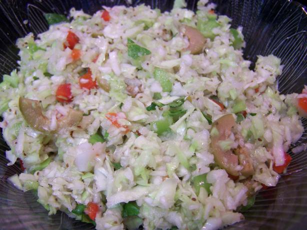 Slaw from Samoa. Photo by Chef PotPie