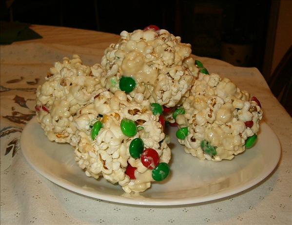 Lazy Goblin Popcorn Balls. Photo by Cathleen Colbert