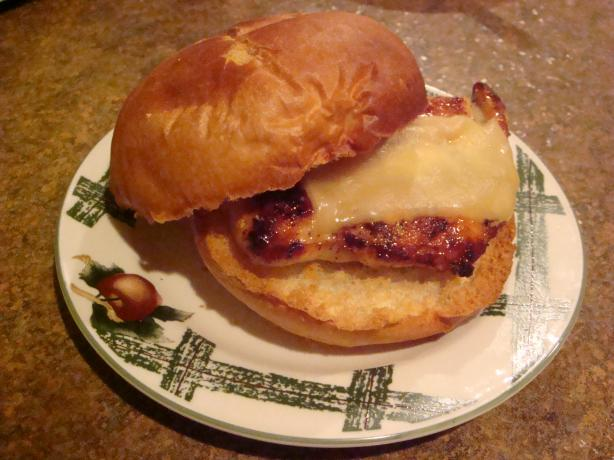 Roasted Chicken Sandwich With Rosemary and Honey Mustard Glaze. Photo by Barenaked Chef