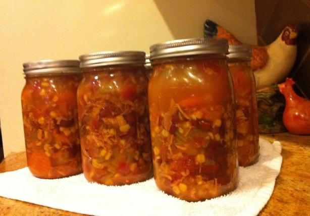 Chicken Mexican Soup ( for Canning ). Photo by dmsgrl