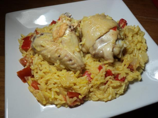 Arroz Con Pollo. Photo by Nif