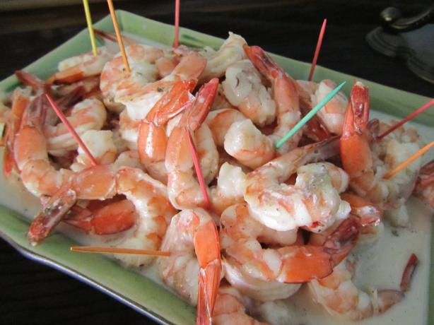Tahitian Shrimp in Coconut-Vanilla Sauce. Photo by Rita~
