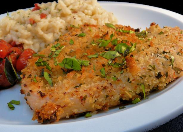 Baked Herb-Crusted Chicken Breasts. Photo by PaulaG