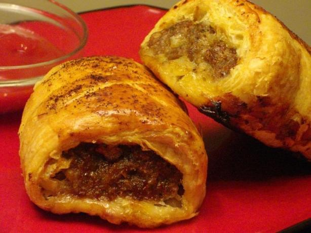 Sausage Rolls the Australian Way. Photo by The Flying Chef