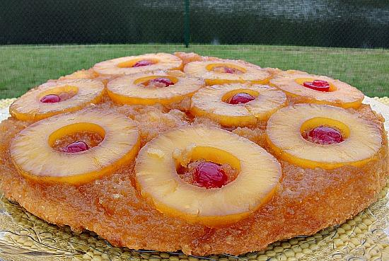 Butter Rum Pineapple Upside-Down Cake. Photo by diner524