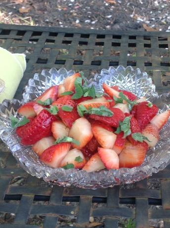 Balsamic Strawberries. Photo by Miss Fannie