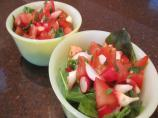 From the Farm - Radish Salad - Longmeadow