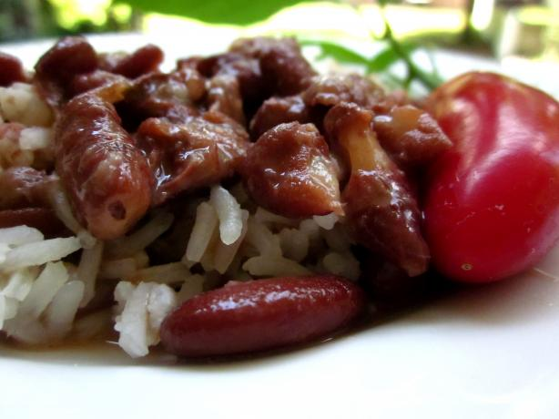 African Red Beans. Photo by gailanng