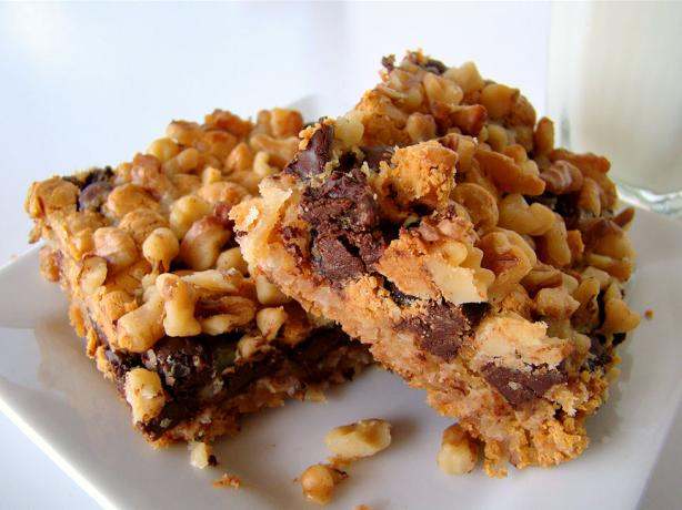Layer Cookies (Magic Layer Bars). Photo by Marg (CaymanDesigns)