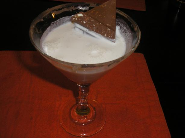 Toblerone Cocktail. Photo by Queen Dana