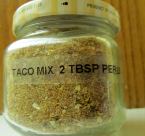 Taco Seasoning Mix. Photo by K9 Owned