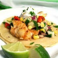 Grilled Tilapia Fish Tacos With Adobo Sauce. Photo by Chef  Boggio