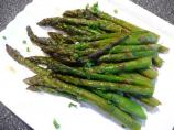 1 Point Plus - Roasted Asparagus With Lemon and Chives