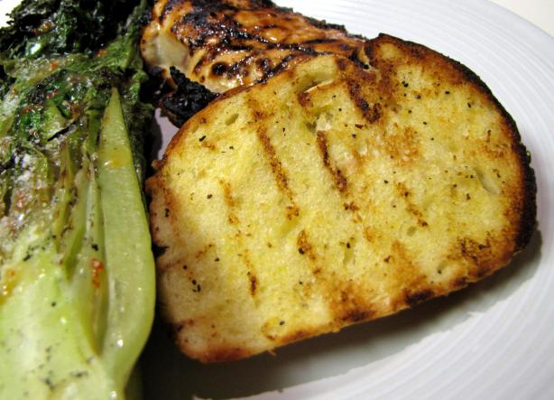 Lemony French Bread, Grilled. Photo by loof