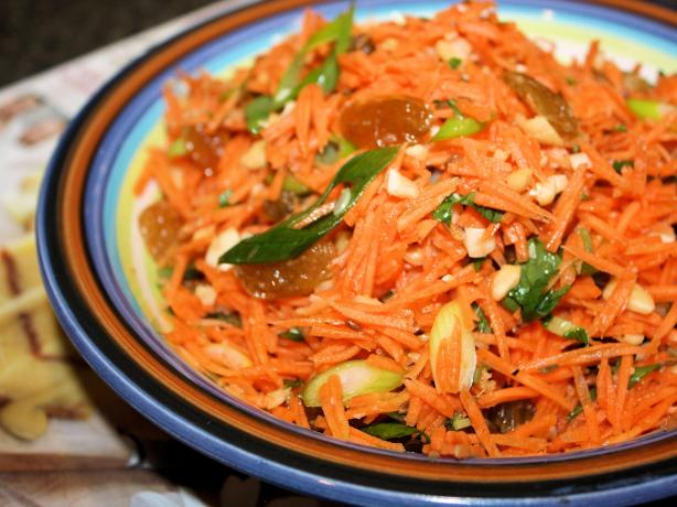 Carrot and Golden Raisin (Sultana) Salad. Photo by **Jubes**