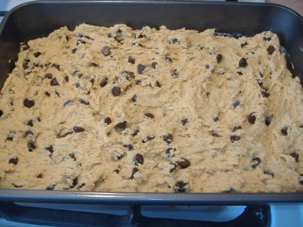 Peanut Butter and Chocolate Chip Bars. Photo by vivmom