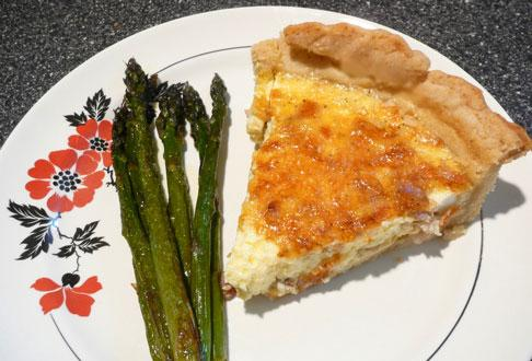 Quiche Lorraine. Photo by Mikekey