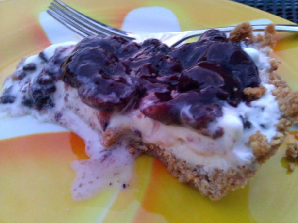 Black Forest Ice Cream Pie. Photo by mersaydees