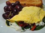 Spinach, Tomato and Ricotta Omelette