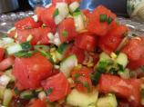 Cucumber N Watermelon Salad a Summer Delight!!!!!!!