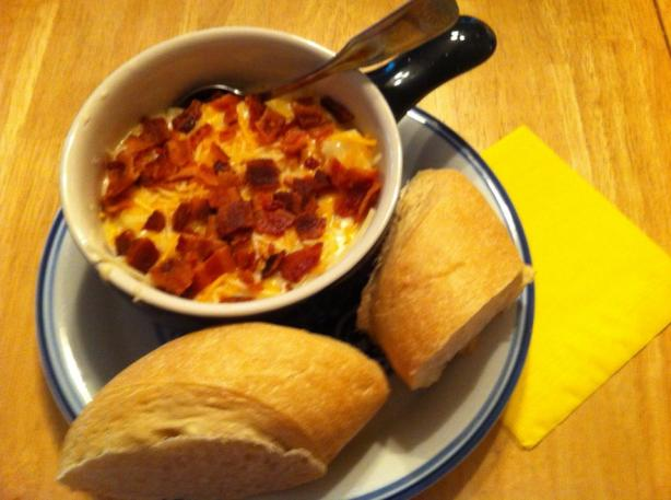 Crock Pot Baked Potato Soup. Photo by tufftate
