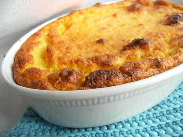 Sweet Corn Spoonbread, the Easy Way. Photo by Lalaloula