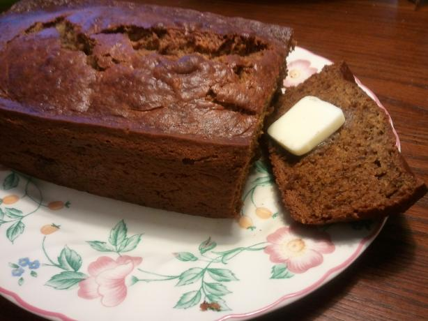 Chai-Spice Banana Bread. Photo by JillyBeane
