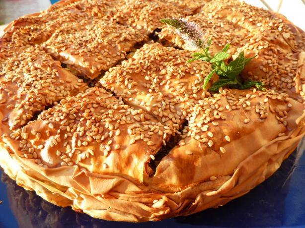 Zucchini Pie of Chania – Kolokithoboureko Chaniotico. Photo by awalde
