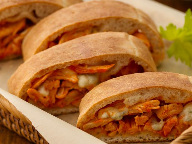 Buffalo Chicken Stromboli. Photo by Pillsbury®