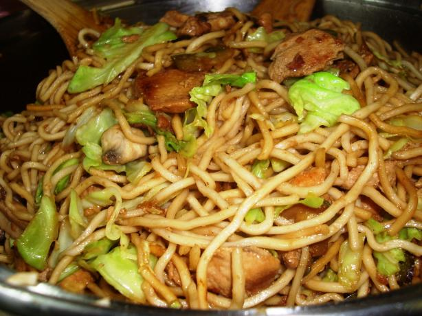 Chicken Chow Mein. Photo by Karen Elizabeth