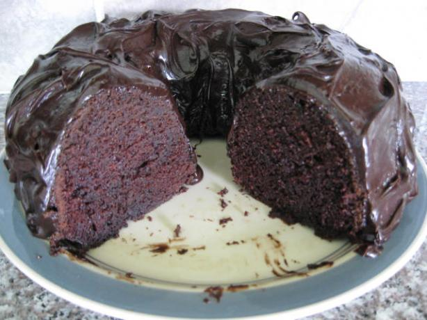 Moist Chocolate Bundt Cake. Photo by Papa D 1946-2012