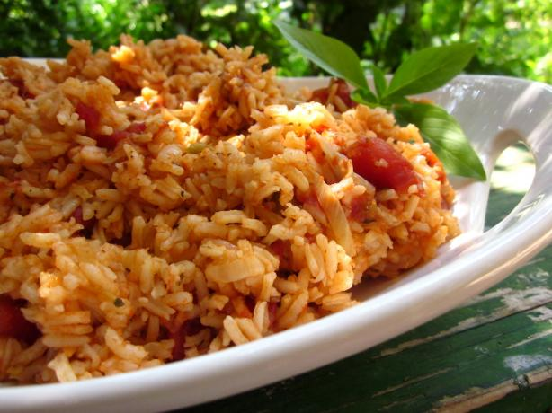 Mexican Rice. Photo by gailanng