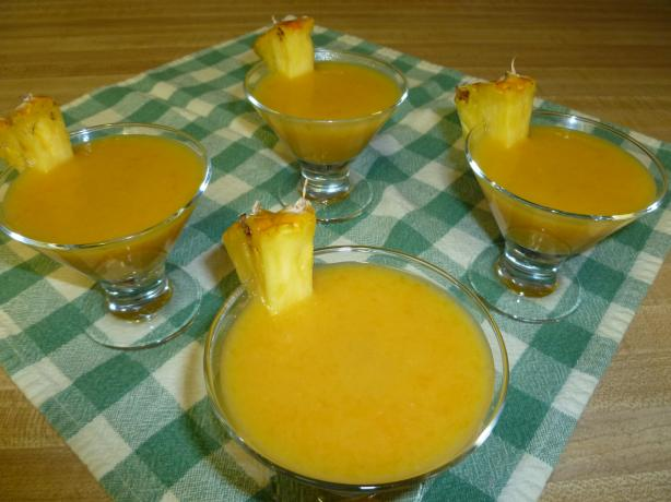 Easy Thai Mango Pudding. Photo by Ambervim