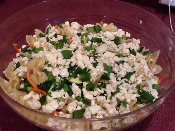My Big Fat Greek Pasta Salad. Photo by CIndytc