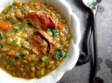 Lentils With Garlic Sausage