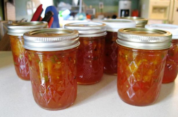 Hot Pepper Peach Spread. Photo by PainterCook